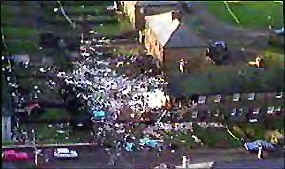 Lockerbie Destruction